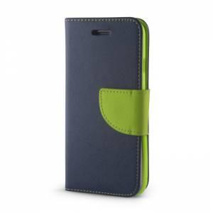 Pokrowiec Smart Fancy do Xiaomi Redmi Note 7 granatowo-zielony