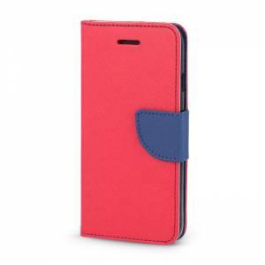 Pokrowiec Smart Fancy do Xiaomi Redmi Note 7 czerwono-granatowy
