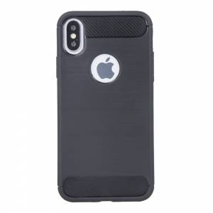Nakładka Simple Black do iPhone X / iPhone XS