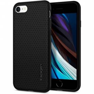 Spigen Etui Liquid Air iPhone 7/8/SE 2020 czarny