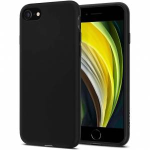 Spigen Etui Liquid Crystal iPhone 7/8/SE 2020 czarne