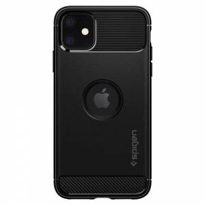 Spigen Etui Rugged Armor iPhone 11 czarny