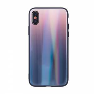 Nakładka Aurora Glass do Samsung S20 Plus brązowo-czarna