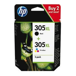 Oryginalny zestaw HP 305 XL czarny + kolor 6ZA94AE