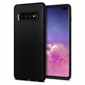 Etui Spigen Liquid Air do Galaxy S10+ Plus Matte Black
