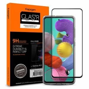 Szkło hartowane Spigen Glass Fc do Galaxy A51 Black