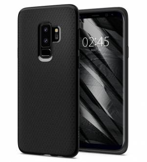 Etui Spigen Liquid Air do Galaxy S9+ Plus Matte Black