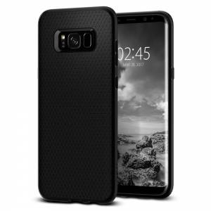 Etui Spigen Liquid Air do Galaxy S8+ Plus Black
