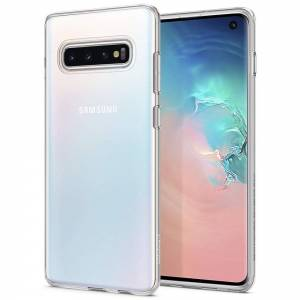 Etui Spigen Liquid Crystal do Galaxy S10 Crystal Clear