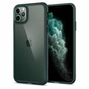 Etui Spigen Ultra Hybrid do Iphone 11 Pro Midnight Green