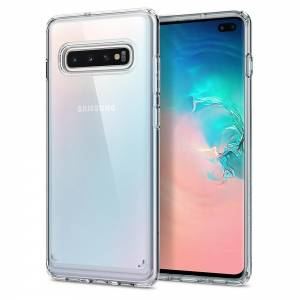Etui Spigen Ultra Hybrid do Galaxy S10+ Plus Crystal Clear