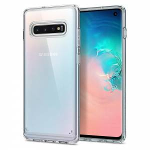 Etui Spigen Ultra Hybrid do Galaxy S10 Crystal Clear