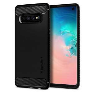 Etui Spigen Rugged Armor do Galaxy S10 Matte Black