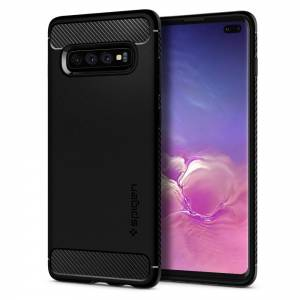 Etui Spigen Rugged Armor do Galaxy S10+ Plus Matte Black