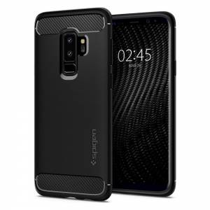Etui Spigen Rugged Armor do Galaxy S9+ Plus Matte Black