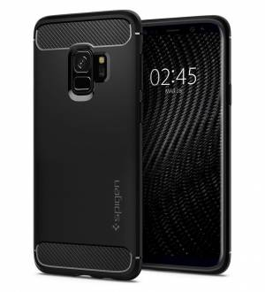 Etui Spigen Rugged Armor do Galaxy S9 Matte Black