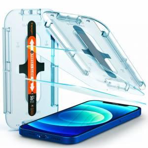 Szkło hartowane Spigen Glas.tr ez Fit 2-pack do Iphone 12/12 Pro