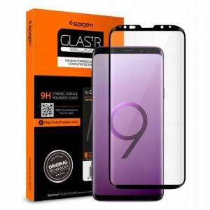 Szkło hartowane Spigen Glas.tr Case Friendly do Galaxy S9 Black
