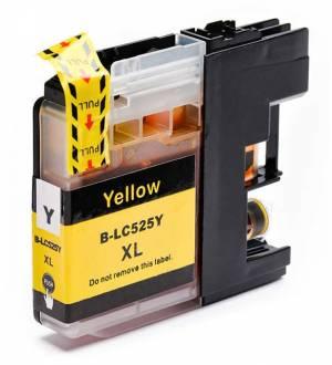 Tusz do Brother LC525 XL Y zamiennik yellow